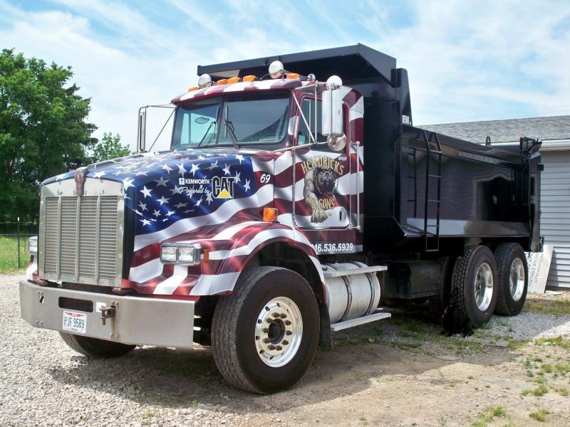 EPPOLITO SIGNS - WrapsKenworth Dump Trucks Graphics